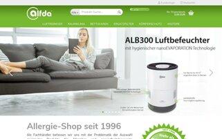 alfda Webseiten Screenshot