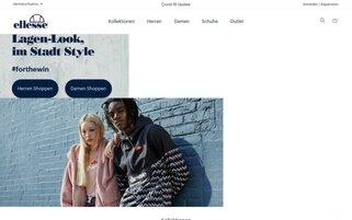 ellesse Webseiten Screenshot