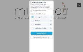 milquino Webseiten Screenshot