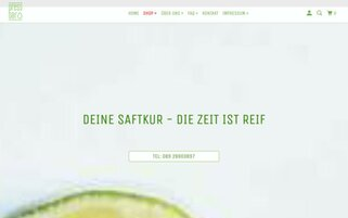 pressbar Webseiten Screenshot