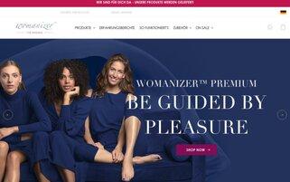womanizer Webseiten Screenshot