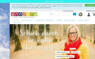anndora Webseiten Screenshot