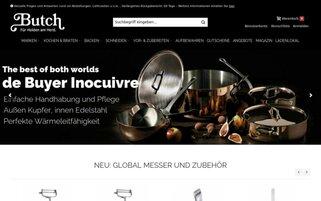Butch Webseiten Screenshot