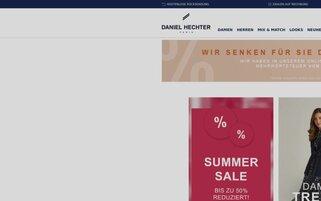 Daniel Hechter Webseiten Screenshot