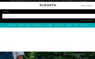 eleonto Webseiten Screenshot