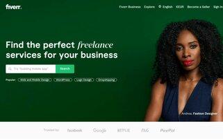 Fiverr Webseiten Screenshot