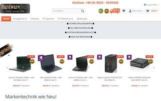 Hardwarehexe Webseiten Screenshot