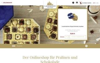 Confiserie Lauenstein Webseiten Screenshot