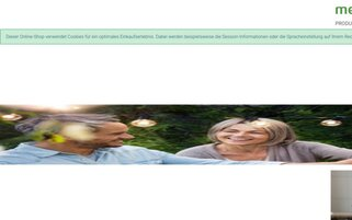 Medisana Webseiten Screenshot