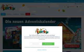 Teddy Toys Webseiten Screenshot