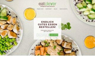 Eatclever Webseiten Screenshot