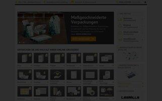 Onlineprinters Webseiten Screenshot