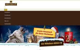 Wolfsblut Webseiten Screenshot