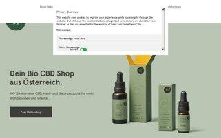 BioBloom Webseiten Screenshot