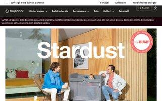 Bugaboo Webseiten Screenshot