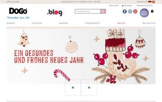DOGO Webseiten Screenshot