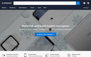 FLIP4SHOP Webseiten Screenshot