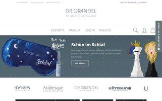DR. GRANDEL Webseiten Screenshot