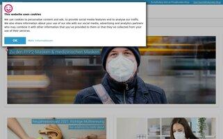 idealclean Webseiten Screenshot