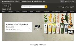Labelhair Webseiten Screenshot