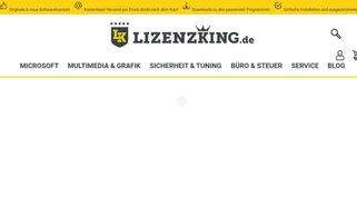 Lizenzking Webseiten Screenshot