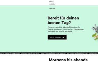 Primal State Webseiten Screenshot