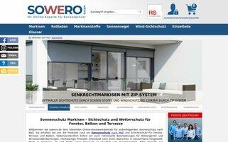 Sowero Webseiten Screenshot