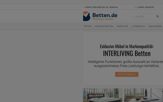 Betten.de Webseiten Screenshot