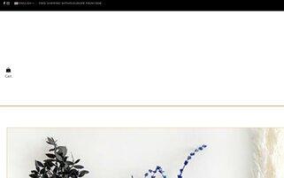 Blossom Box Webseiten Screenshot