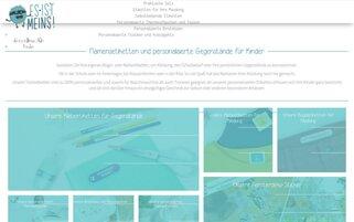 Es Ist Meins Webseiten Screenshot
