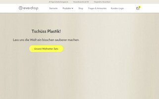 Everdrop Webseiten Screenshot