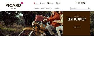 Picard Webseiten Screenshot