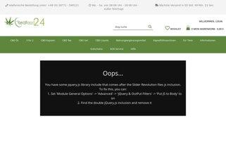 Redfood24 Webseiten Screenshot