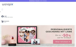 Wanapix Webseiten Screenshot