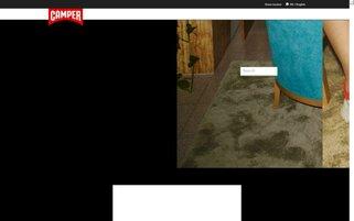 Camper Webseiten Screenshot