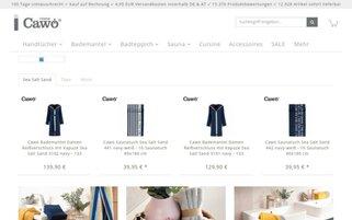 Cawö Webseiten Screenshot