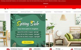 Costway Webseiten Screenshot