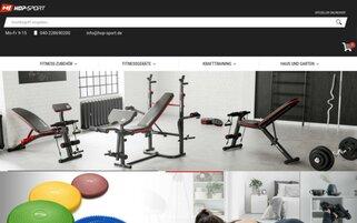 Hop Sport Webseiten Screenshot