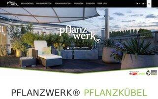 Pflanzwerk Webseiten Screenshot