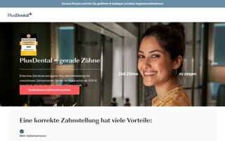 PlusDental Webseiten Screenshot