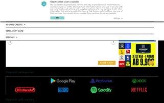 Startselect Webseiten Screenshot