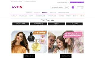 Avon Webseiten Screenshot