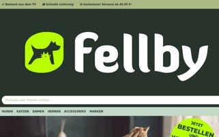 Fellby Webseiten Screenshot