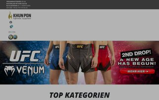 Khun Pon Webseiten Screenshot