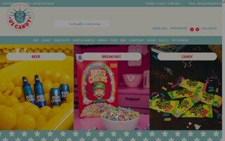 US Candy Webseiten Screenshot