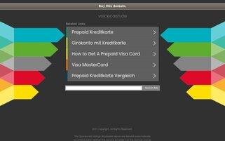 Voicecash Webseiten Screenshot