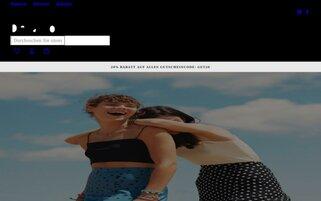 DeFacto Webseiten Screenshot