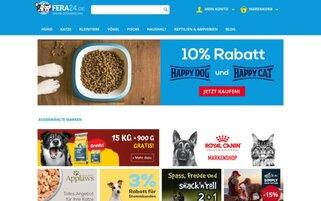 Fera24 Webseiten Screenshot