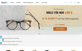 Firmoo Webseiten Screenshot