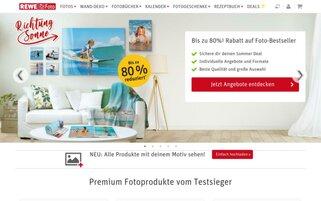 REWE Foto Webseiten Screenshot